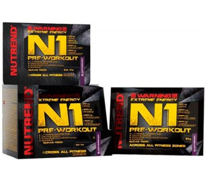 Nutrend N1 Pre-Workout 10 пакетов по 17 грамм в Киеве