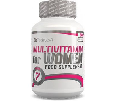 Multivitamin For Women BioTech USA 60 таблеток в Киеве