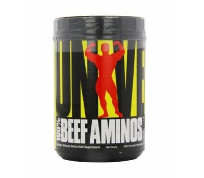 100% Beef Aminos Universal Nutrition 400 таблеток в Киеве