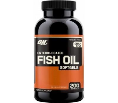 Fish Oil Optimum Nutrition 200 капсул в Киеве