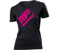 Женская футболка Musclepharm модель 4-1 черная