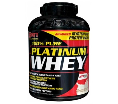 100% Pure Platinum Whey SAN 2240g в Киеве