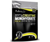 100% Creatine Monohydrate BioTech 500g bag