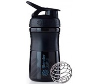 Blender Bottle SportMixer 591 ml mini black-black