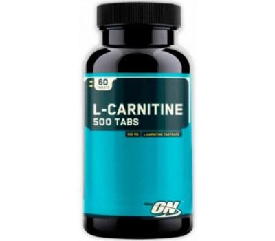 Optimum L-carnitine 500 mg 60 таблеток в Киеве
