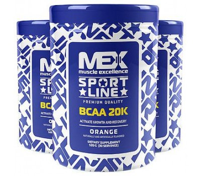 MEX Nutrition BCAA 20K 520g в Киеве