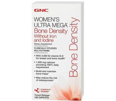 GNC Womens UM Bone Density no Iron and Iodine 120 каплет в Киеве
