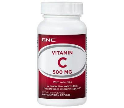 GNC Vitamin C 500 mg 100 капсул в Киеве