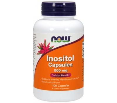 NOW Inositol 500 mg (Инозитол) 100 капсул в Киеве