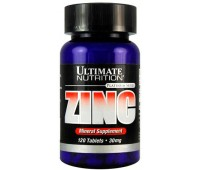 Ultimate Nutrition Zinc 30 mg 120 таблеток