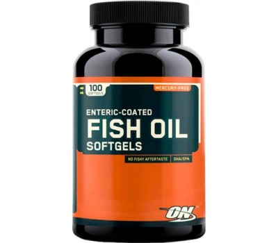 Fish Oil Optimum Nutrition 100 капсул в Киеве