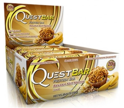 Quest Bar Banana Nut Muffin 12х60g в Киеве