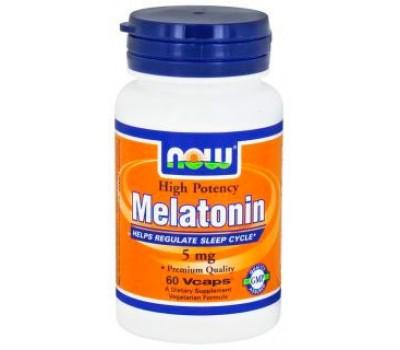 NOW Foods Melatonin 5 mg 60 капсул в Киеве