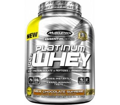 Muscletech Protein Platinum 100% Whey 2270g в Киеве