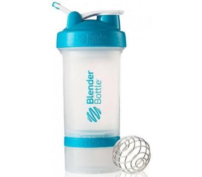 Shaker Blender Bottle ProStak 650 ml clear aqua в Киеве