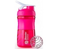 Blender Bottle SportMixer 591 ml mini pink