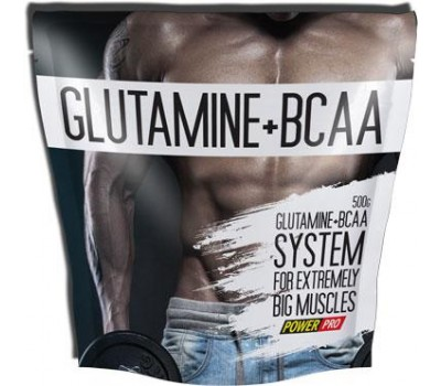Power Pro Glutamine + BCAA 500g в Киеве