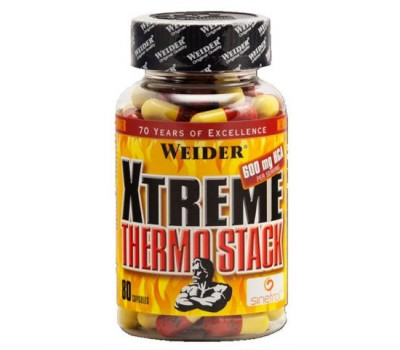 Weider Xtreme Thermo Stack 80 капсул в Киеве