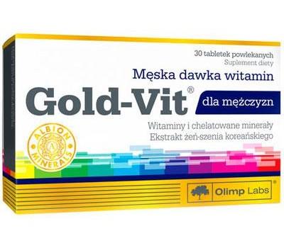 Olimp Labs Gold-Vit for Men 30 таблеток в Киеве
