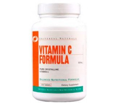 Vitamin C Formula Universal Nutrition 100 таблеток в Киеве