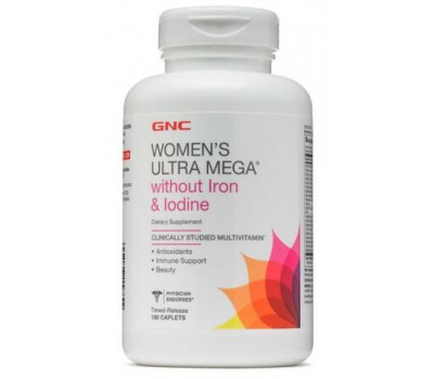 GNC Women's UM Without Iron and Iodine 180 каплет в Киеве