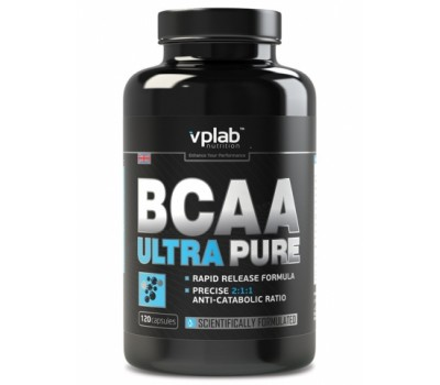 BCAA Ultra Pure VP Laboratory Nutrition 120 капсул в Киеве