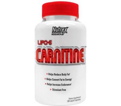Lipo-6 Carnitine Nutrex 120 капсул в Киеве