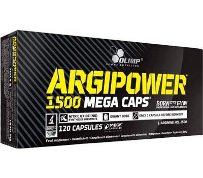 Argi Power 1500 Mega Caps Olimp 120 капсул в Киеве