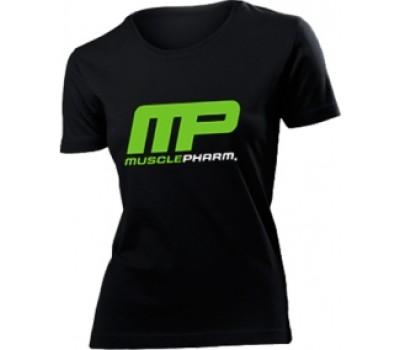 Женская футболка Musclepharm модель 1-1 черная в Киеве