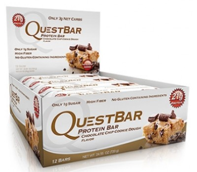 Quest Bar Chocolate Chip Cookie 12х60g в Киеве