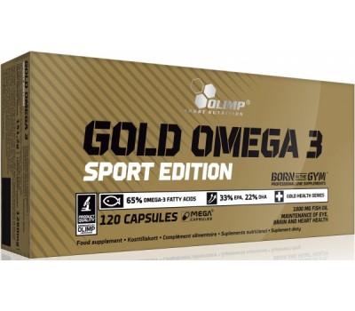 Olimp Gold Omega 3 Sport 120 капсул в Киеве