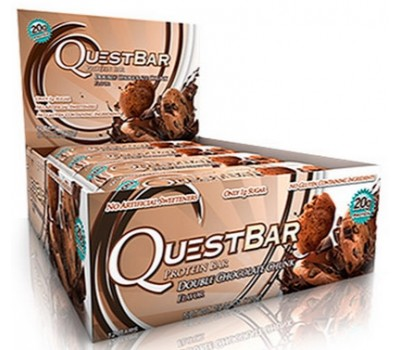 Quest Bar Double Chocolate Chunk 12x60g в Киеве