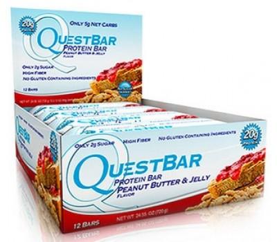 Quest Bar Peanut Butter Jelly 12х60g в Киеве