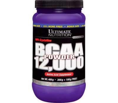 BCAA 12000 Powder Ultimate Unflavored 400g в Киеве