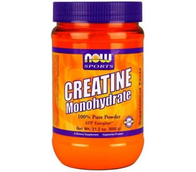 Creatine Monohydrate Powder NOW 600g в Киеве