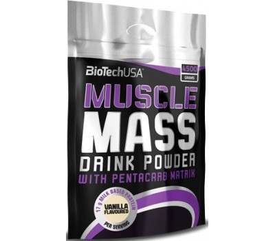 BioTech USA Muscle Mass 4500g в Киеве