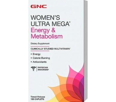GNC Womens Ultra Mega Energy Metabolism 180 каплет в Киеве