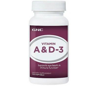 GNC Vitamin A and D-3 100 капсул в Киеве