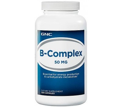 GNC B-Complex 50 mg 250 капсул в Киеве