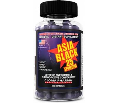 Asia Black Cloma Pharma 100 капсул в Киеве