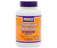 NOW Chromium Picolinate 250 капсул
