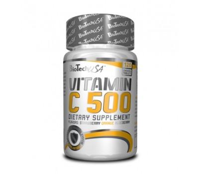 Vitamin C 500 mg BioTech USA 120 таблеток в Киеве