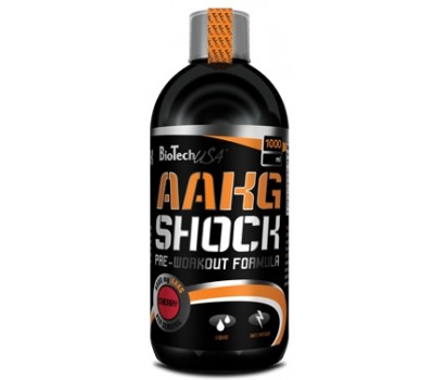 BioTech USA AAKG Shock Extreme 500 мл в Киеве