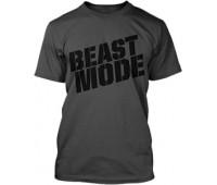 Футболка Beast Mode модель 5-2 серая (L, XL)