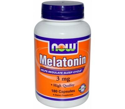 Now Foods Melatonin 3 mg 180 капсул в Киеве