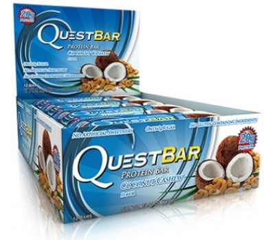 QuestBar Coconut Cashew (Кокос Кешью) 12Х60g в Киеве