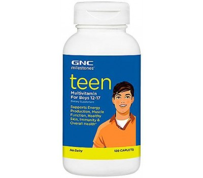 GNC Teen Multivitamin For Boys 12-17 120 таблеток в Киеве