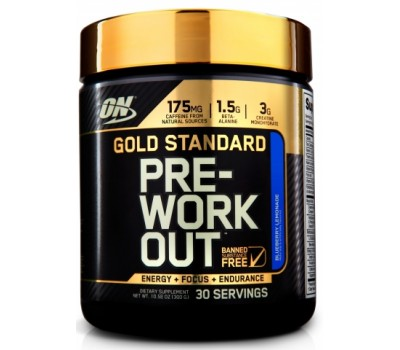 Gold Standard Pre-Workout Optimum Nutrition 300g в Киеве
