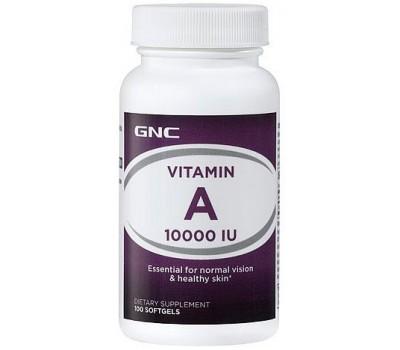 GNC Vitamin A 10000 IU 100 капсул в Киеве