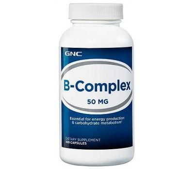 GNC B-Complex 50 mg 100 капсул в Киеве